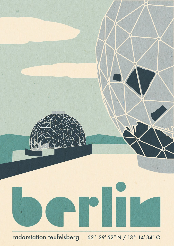 Trixi Feller Vintage Poster